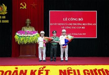 Công an tỉnh Hà Giang có 2 tân Phó Giám đốc