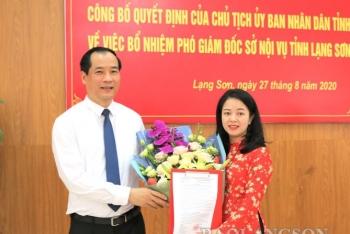 Tin bổ nhiệm lãnh đạo mới Lạng Sơn, Quảng Ninh, Thanh Hóa