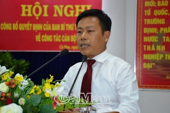 Ban Bí thư chỉ định ông Lê Quân giữ chức Phó Bí thư Tỉnh ủy Cà Mau