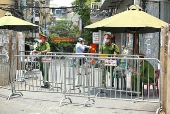 Hà Nội tạm thời phong tỏa chợ đầu mối Minh Khai quận Bắc Từ Liêm