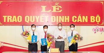 Loạt nhân sự, lãnh đạo mới được bổ nhiệm tại Hà Nội và An Giang