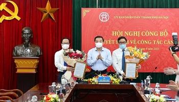 Hà Nội, Hải Phòng, Thanh Hóa điều động, bổ nhiệm nhiều nhân sự mới
