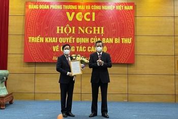 Ông Phạm Tấn Công được bổ nhiệm làm Bí thư Đảng đoàn VCCI