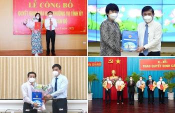 Loạt nhân sự, lãnh đạo mới được bổ nhiệm tại TP.HCM, An Giang, Nghệ An