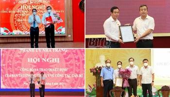 Thái Bình, Đồng Tháp và Khánh Hòa bổ nhiệm nhân sự lãnh đạo mới