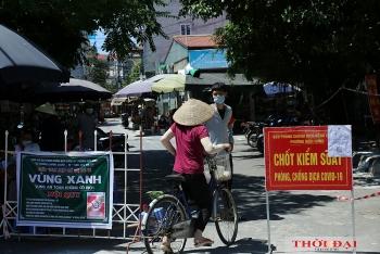 Sáng 25/8, Hà Nội ghi nhận thêm 4 ca mắc COVID-19