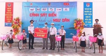 Tích cực tuyên truyền, phổ biến Luật Cảnh sát biển Việt Nam tới người dân