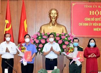 Bổ nhiệm nhân sự, lãnh đạo mới tại TP.HCM, Bà Rịa - Vũng Tàu, Bắc Ninh