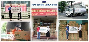 Vinamilk tặng 45.000 phần quà cho người dân khó khăn tại TPHCM, Bình Dương, Đồng Nai