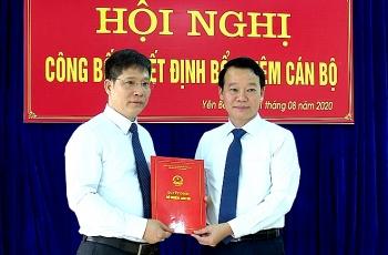 Điều động, bổ nhiệm nhân sự mới Yên Bái, Bắc Giang, Hải Dương