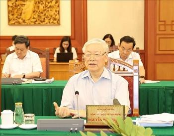 Tổng Bí thư, Chủ tịch nước: TP.HCM phải là một mẫu mực về chuẩn bị Đại hội Đảng