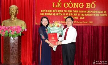 Bổ nhiệm lãnh đạo mới Nghệ An, Tiền Giang, Đồng Nai