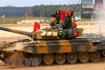 Đoàn Việt Nam khép lại Army Games 2020 với bảng thành tích ấn tượng