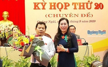 Ông Đặng Văn Minh được bầu giữ chức Chủ tịch UBND tỉnh Quảng Ngãi