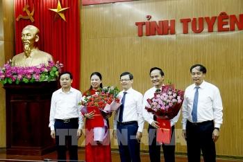 Tuyên Quang có 2 tân Phó Chủ tịch tỉnh