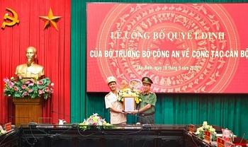 Thượng tá Nguyễn Đức Vương giữ chức Phó Giám đốc Công an tỉnh Thái Bình
