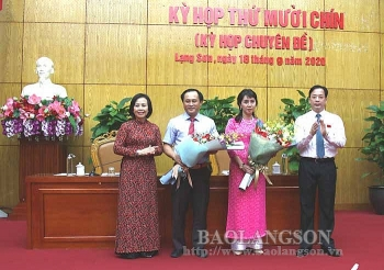Lạng Sơn bầu 2 tân Phó Chủ tịch UBND tỉnh