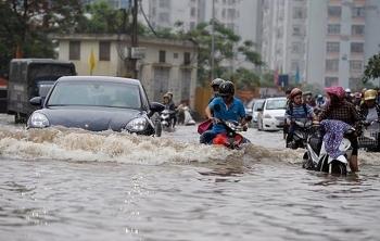 Chi tiết các tuyến phố nội thành Hà Nội có nguy cơ ngập lụt vì mưa lớn kéo dài