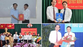 TP.HCM, Đà Nẵng, Kiên Giang kiện toàn nhân sự, bổ nhiệm lãnh đạo mới
