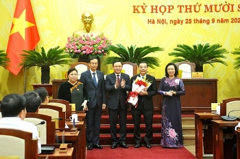 Tân Chủ tịch TP. Hà Nội Chu Ngọc Anh trúng cử với số phiếu tuyệt đối