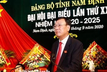 Nam Định bầu ông Đoàn Hồng Phong tiếp tục giữ chức Bí thư Tỉnh ủy