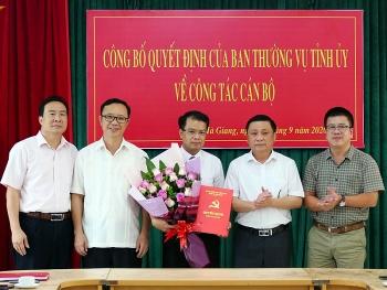 Hà Giang, Yên Bái, Nghệ An bổ nhiệm lãnh đạo mới