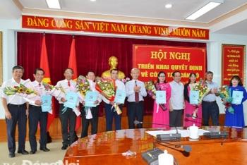 Kiện toàn nhân sự, bổ nhiệm lãnh đạo mới TP.HCM, Đồng Nai