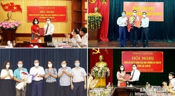 Bổ nhiệm nhân sự, lãnh đạo mới tại Hà Nội, Lạng Sơn, Quảng Nam