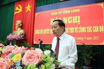 Chân dung ông Nguyễn Thành Thế - tân Phó Bí thư Tỉnh ủy Vĩnh Long