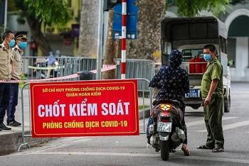 Hà Nội tiếp tục duy trì chốt kiểm soát ra vào thành phố