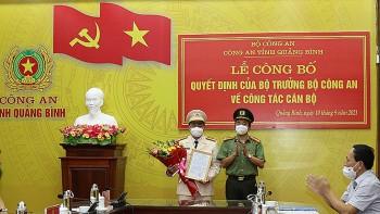 Bộ Công an bổ nhiệm lãnh đạo công an tỉnh Quảng Bình, Đắk Lắk