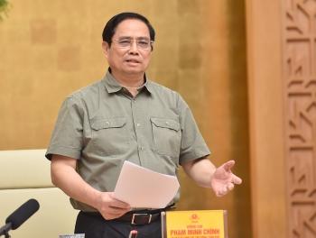 Thủ tướng Phạm Minh Chính: Tránh chủ quan, nóng vội muốn nới lỏng giãn cách