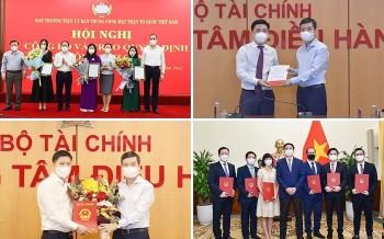 Bổ nhiệm nhân sự, lãnh đạo mới Ủy ban Trung ương MTTQ, Bộ Tài chính, Bộ Ngoại giao