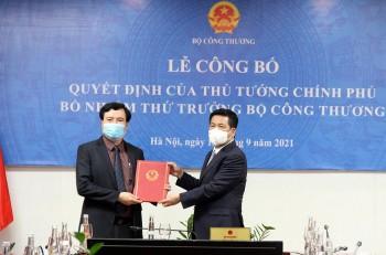 Thủ tướng bổ nhiệm tân Thứ trưởng Bộ Công thương