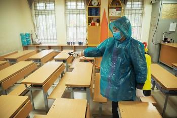 Hà Nội: Các trường học phải khử khuẩn trước khi đón học sinh trở lại