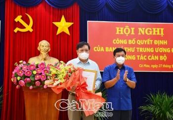Chân dung ông Phạm Thành Ngại - tân Phó Bí thư Tỉnh ủy Cà Mau
