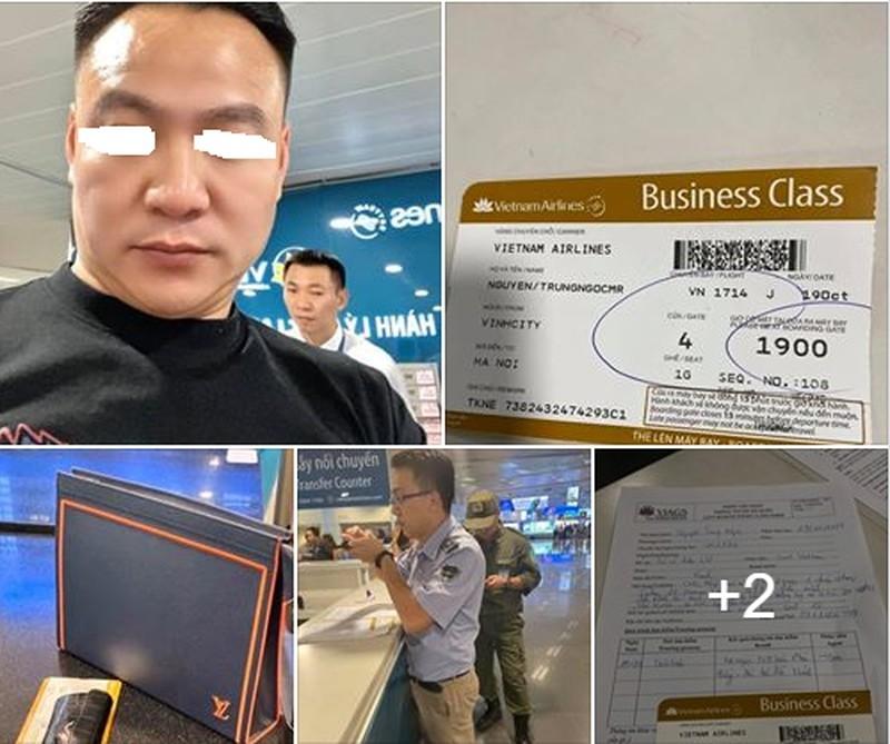 quen tui lv o khoang hang nhat khach vip vietnam airlines mat luon do