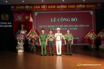 Đại tá Nguyễn Minh Tuấn giữ chức Phó Giám đốc Công an tỉnh Lạng Sơn