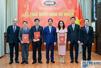 Bổ nhiệm nhân sự mới Bộ Ngoại giao, Bộ Lao động, Thương binh - Xã hội