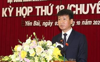 Chân dung ông Trần Huy Tuấn - tân Chủ tịch tỉnh Yên Bái