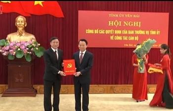 Bổ nhiệm lãnh đạo mới Yên Bái, Quảng Ngãi, Bình Thuận