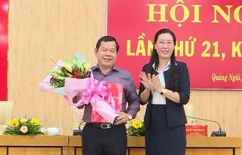 Ban Bí thư chuẩn y Phó Bí thư Tỉnh ủy Quảng Ngãi