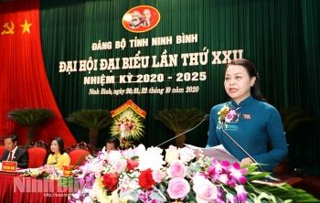 Chân dung bà Nguyễn Thị Thu Hà - Bí thư Tỉnh ủy Ninh Bình