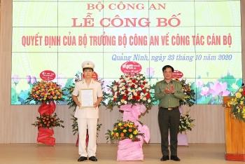 Điều động, bổ nhiệm Phó Giám đốc Công an các tỉnh Quảng Ninh, Hưng Yên