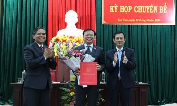 Kon Tum bầu tân Chủ tịch HĐND và UBND tỉnh