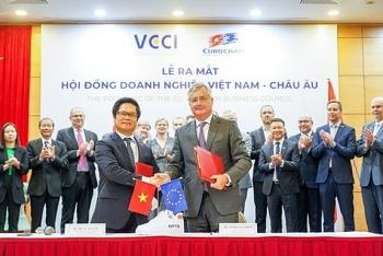 Hội đồng Doanh nghiệp Việt Nam - châu Âu ra mắt với nhiều kỳ vọng