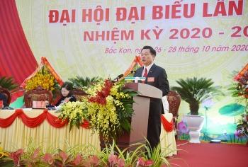 Bắc Kạn bầu ông Hoàng Duy Chinh làm Bí thư Tỉnh ủy
