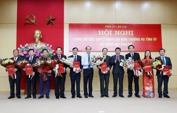 Lào Cai, An Giang điều động, bổ nhiệm lãnh đạo mới