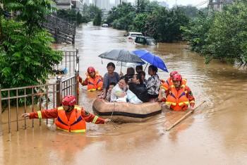 Cảnh báo lũ từ Thanh Hóa đến Quảng Bình do ảnh hưởng của bão số 7