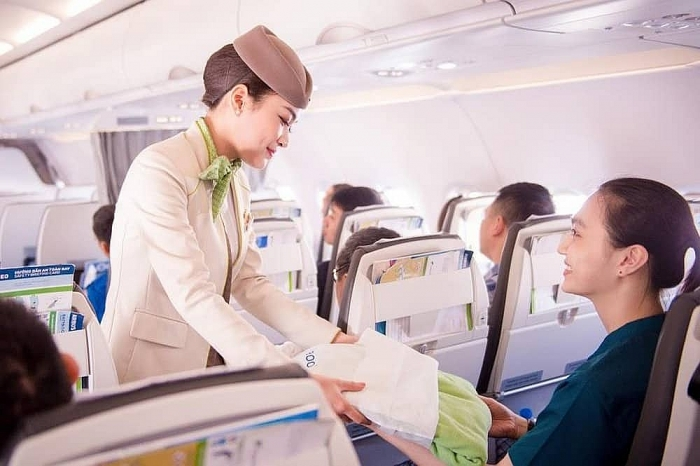 fly green dau an xanh tren bau troi cua bamboo airways